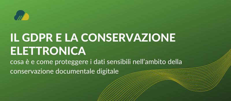 conservazione elettronica dei documenti digitali